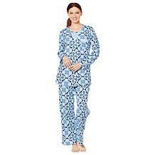 Exclusive Aria 3 Piece Cotton Jersey Pajama Set