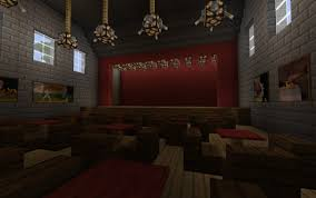 ᐅ Theater In Minecraft Bauen Minecraft Bauideende