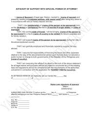 Affidavit Of Support Letter Delectable Examples Of Executive Resumes Sample Affidavit For Lost Birth