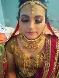 bridal makeup workthe jawed habib saharsa more information contact us 9939782073