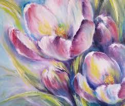 Spring Flowers Painting by Eleonora Taranova | Saatchi Art