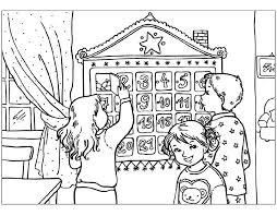 Advent Kleurplaten Advent Kalender