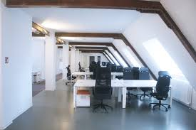 beautiful bright office. beautiful and bright office on top floor building u
