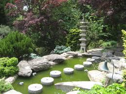 Japanese garden on the estate
