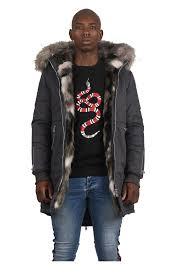 Project X Paris Fur Camo Parka