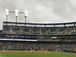 Comerica Park Seating Chart With Rows And Seat Numbers Breakdown Of The Comerica Park Seating Chart Detroit Tigers