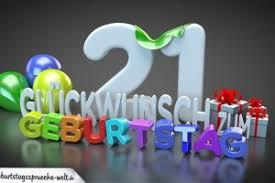 21 Geburtstag Sprüche Witze 1 Happy Birthday World