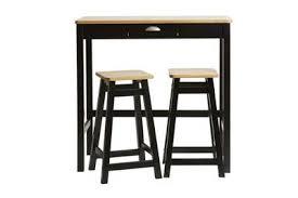 Ensemble table / chaise Tousmesmeubles Table haute + 2 tabourets ...