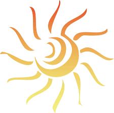 Image result for sun clipart transparent background