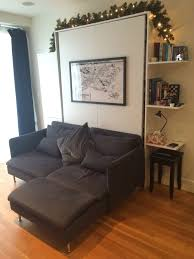 murphy bed sofa twin. DIY Murphy Bed From IKEA Parts (via Www.apartmenttherapy.com) Sofa Twin V
