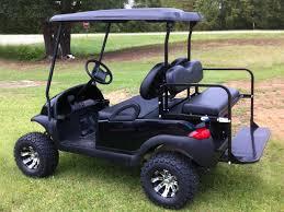 black club car precedent golf cart for