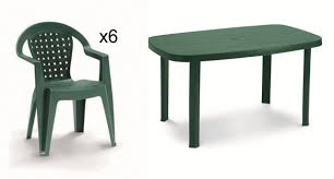 incredible plastic garden table resin 6 seater oval normaotello garden furniture set in forest