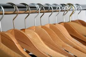 empty closet with hangers. Wood Hangers Empty Closet With C