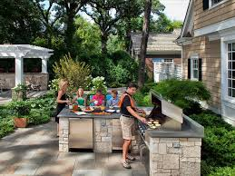 Backyard Designs With Pool And Outdoor Kitchen Classy 48 Gorgeous Outdoor Kitchens HGTV's Decorating Design Blog HGTV