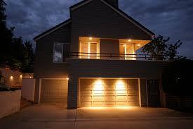 creative outdoor lighting ideas. Garage Door Lighting Distinctions Creative Regarding Idea 8 Outdoor Ideas