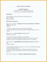 Unique Volunteer Experience Resume Example Awesome Template Samples
