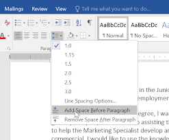 How To Add A Drop Down Box In Word Word 2016 Line And Paragraph Spacing