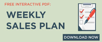 A Weekly Sales Planning System That Really Works
