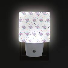 Non Plug In Night Light Trans Planet Led Night Lights With Auto Dusk To Dawn Sensor