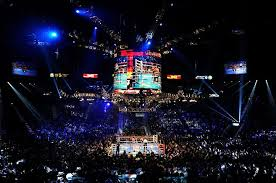 attend a boxing match in madison square garden mgm grand garden arena madison square