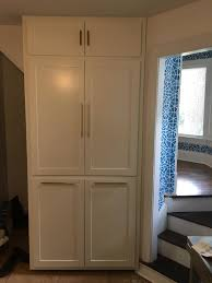 Build In Cabinet Design Custom Cabinet Design And Build In A Very Narrow Space