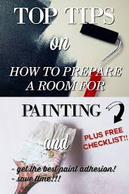 get your free how to prepare a room for painting checklist to print off and keep