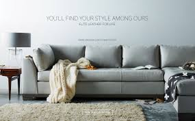 top leather furniture manufacturers. elite leather for life colony sectional custom made in storm view our top furniture manufacturers o