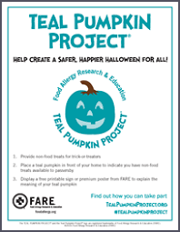 project posters signs flyers and posters for the teal pumpkin project free