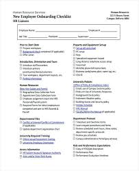 Onboarding Template Excel Human Resources Checklist Template Hr Audit South Africa Handover
