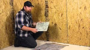 how to lay l stick vinyl on a wood floor flooring help