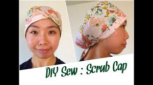 Scrub Cap Pattern Simple DIY Scrub Cap Sewing Tutorial YouTube