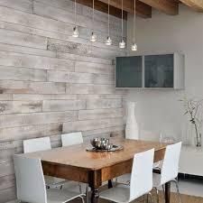 wood walls living room