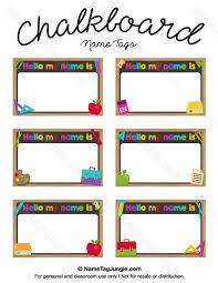 printable name tags for desks luxury free printable chalkboard name tags the template can also be