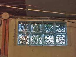 how to install glass block windows basement glass block window replacement 2 shims removed it s done