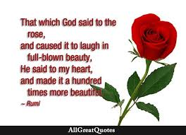 Quotes About Roses And Beauty Best of That Which God Said To The Rose And Caused It To Laugh In Full