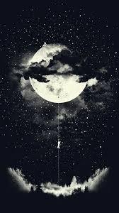 Moon art, Art wallpaper, Galaxy wallpaper