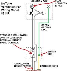guide to installing bathroom vent fans simple fan only wiring for a nutone model 8814r and similar bath vent fans c