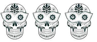 Printable Sugar Skull Coloring Pages Skull Coloring Pages E Sugar