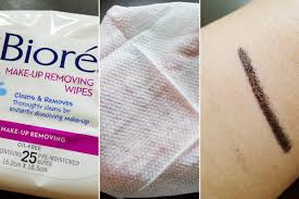 biore make up removing wipes