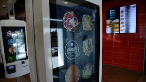 Mcdonalds Vending Machine Delectable What Customers Can Eat With McDonald's Customized Menu ABC News