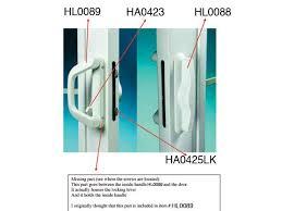 sliding glass door lock replacement