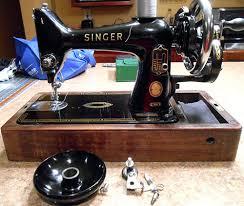 Singer 99 Sewing Machine Hand Crank
