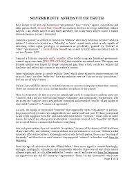 Affidavit Of Facts Template Affidavit Of Fact Template Oloschurchtp 23