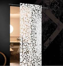 full effect design interior doors made from glass modern aesthetic glass doors