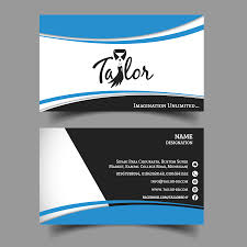 Tailors Visiting Card Design Business Card Tailor Shadmans