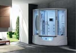 image of one piece bathtub shower combo