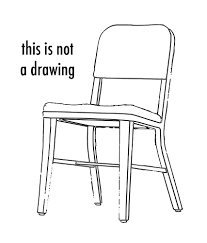 Modren School Chair Drawing Even Though I Went To In Inspiration