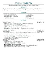 General Laborer Sample Resume Best of General Laborer Resume Fdlnews
