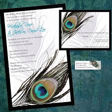 Peacock Invitations Peacock Wedding Invitations Template Business