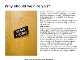 why should we hire you interview question why should we hire you over other candidates gidiye